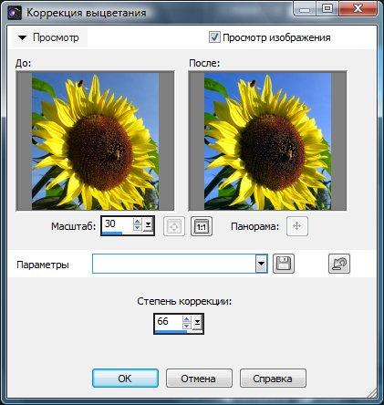 Мягкая коррекция изображения Corel PaintShop Pro X4 автор Шитов В.Н.