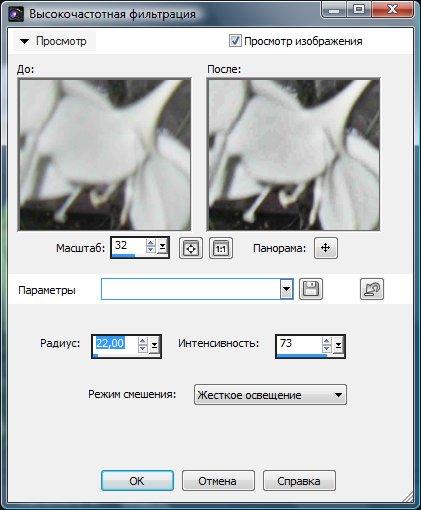 Настройка параметров резкости Corel PaintShop Pro X4 автор Шитов В.Н.
